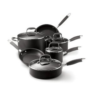 anolon advanced 10 piece set non stick