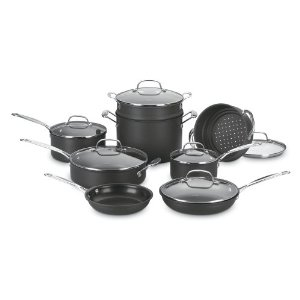 cuisinart chef classic hard andoized-cookware