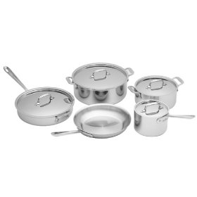 all clad stainless 9 piece