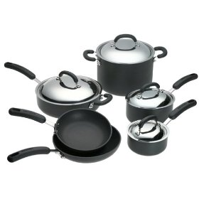 circulon 10 piece cookware set
